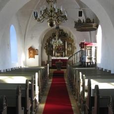 stepping kirke interiør
