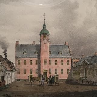 Ulriksholm midten af 1800