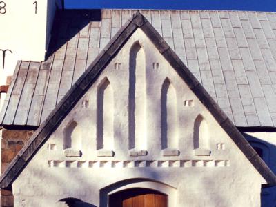 Vester Nebel Kirkes våbenhus
