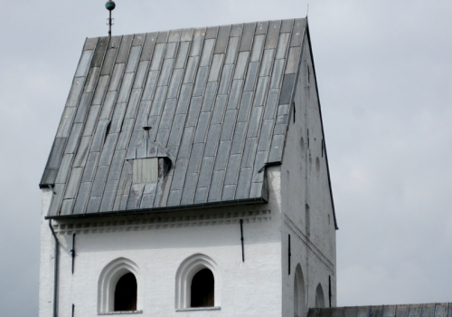 Ravsted Kirketårn før restaurering