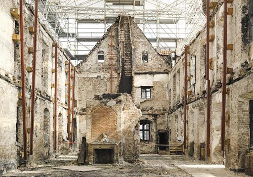 Sparresholm, ruin