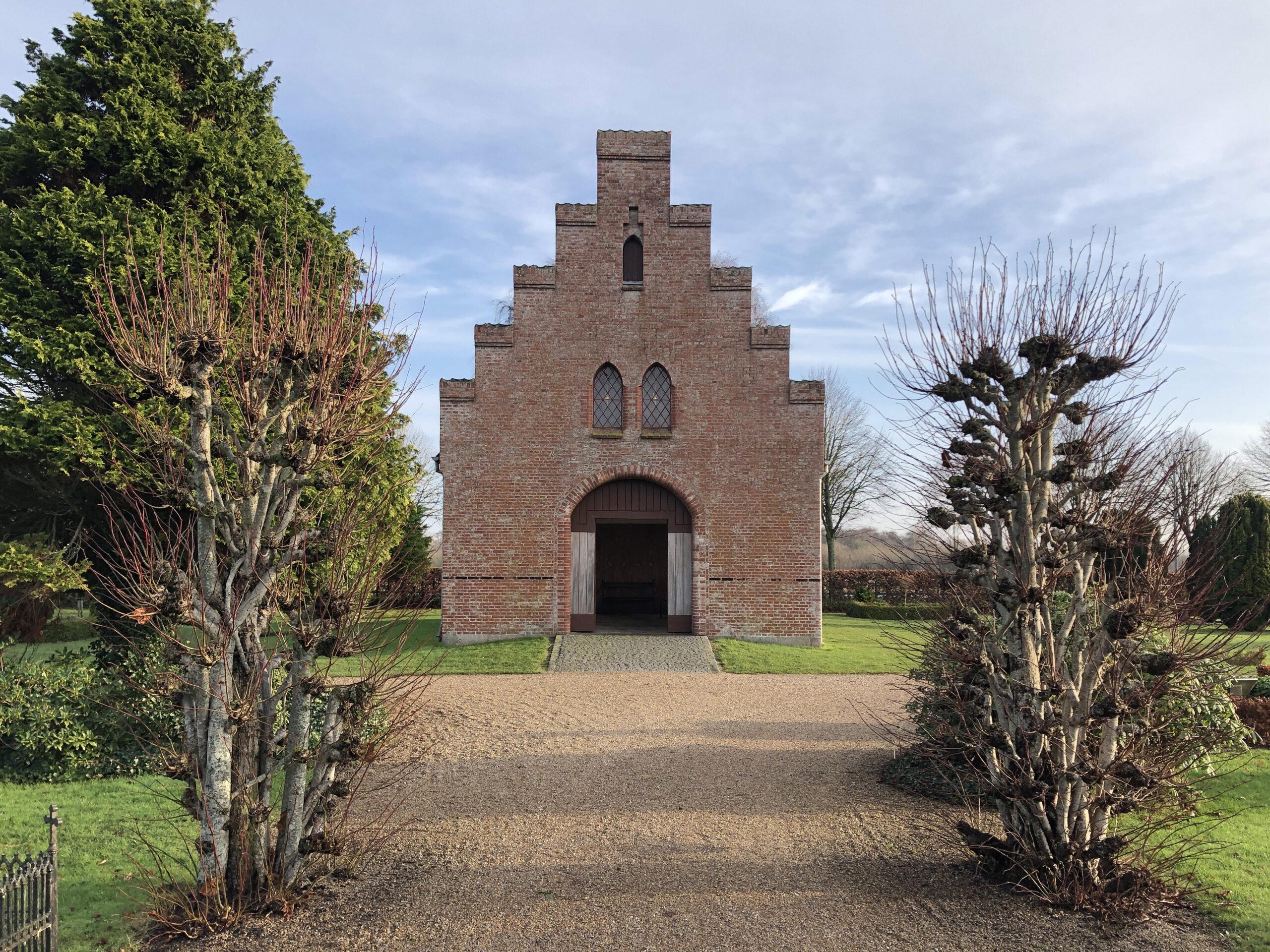Kapel, Ribe Gl. Kirkegård