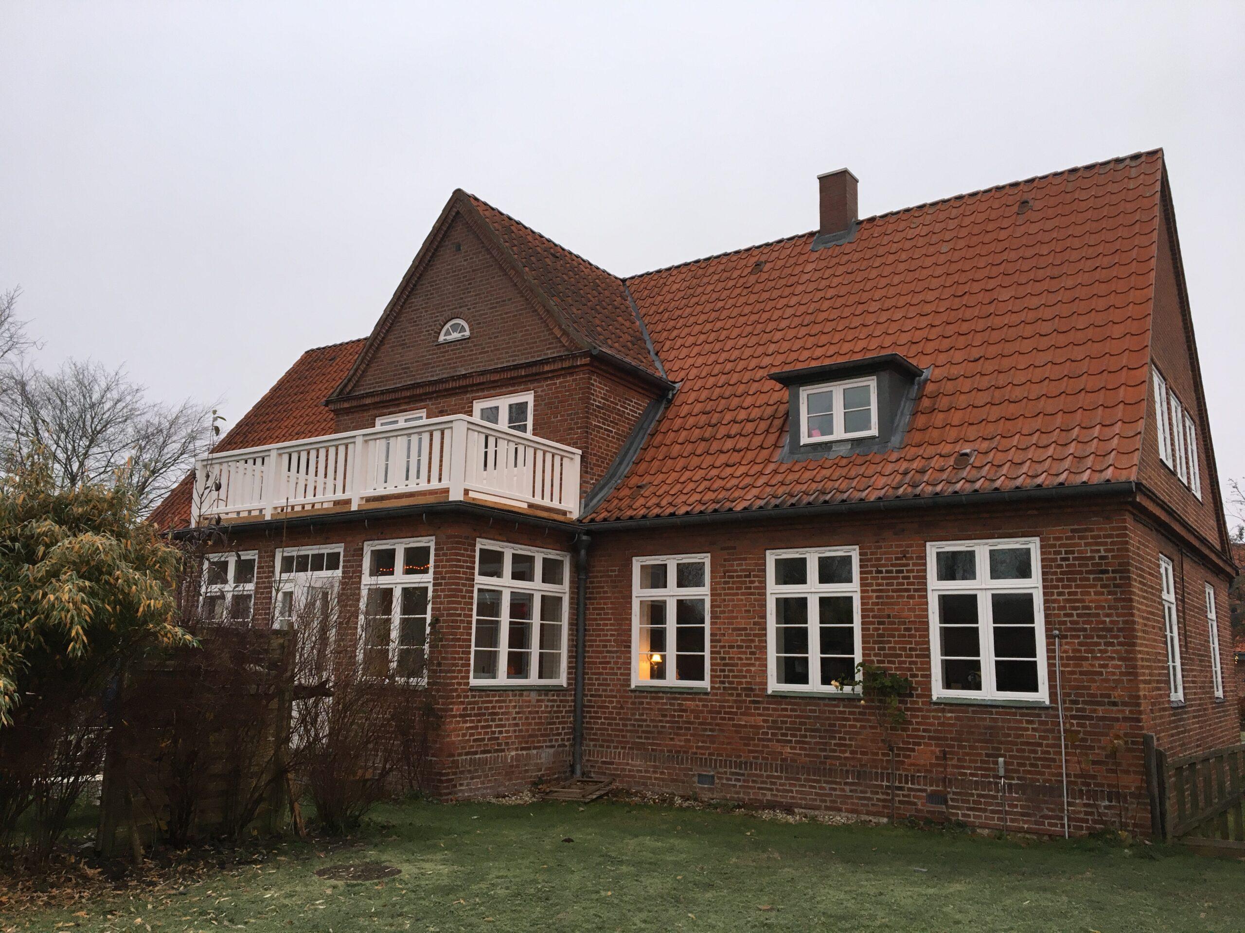 Den tyske præstegård, Løgumkloster